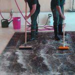شستشوی فرش ماشینی با دست