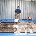 شستشوی فرش با دستگاه قالیشویی